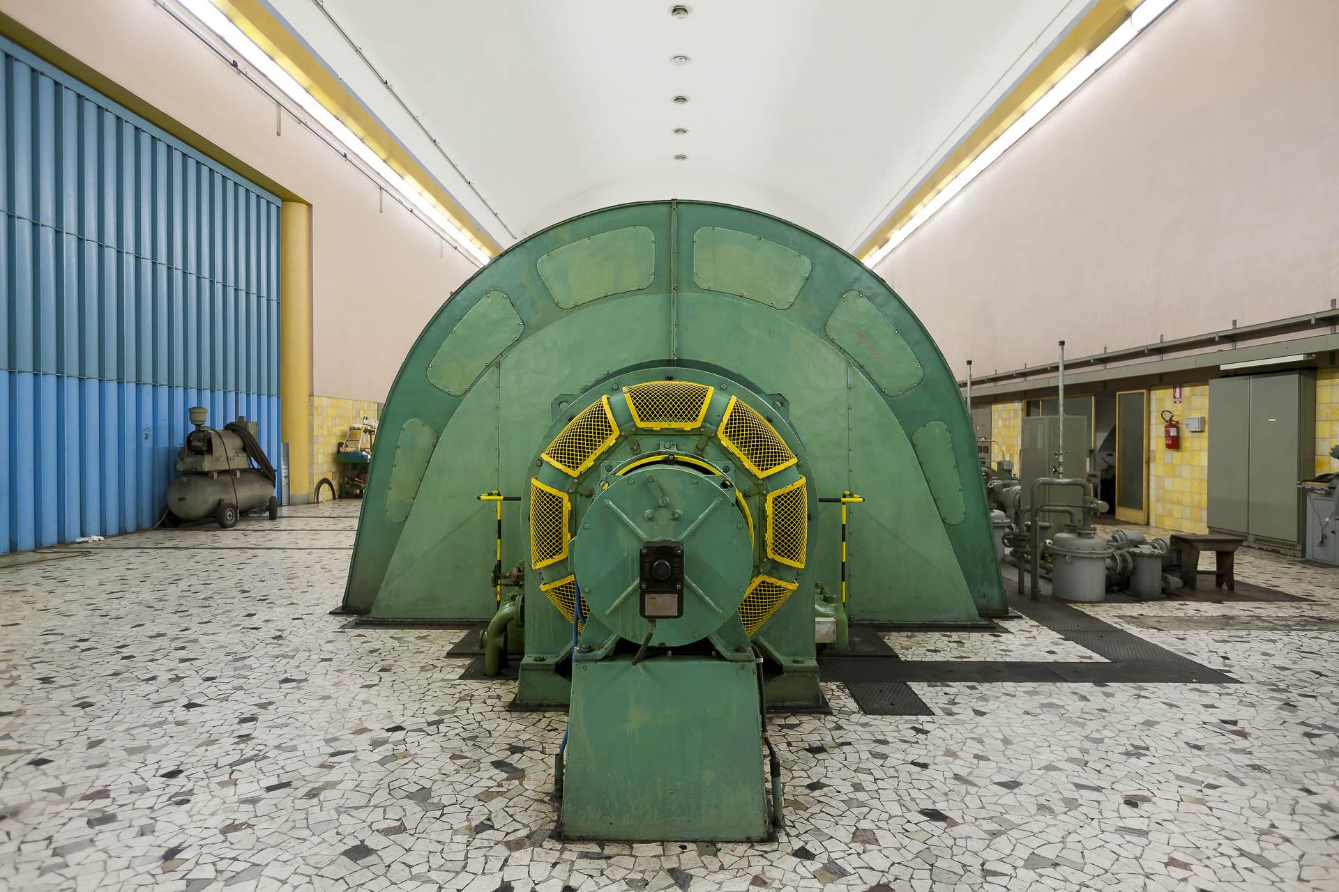 Centrale di Avise Impianto energia idroelettrica green Gruppo CVA