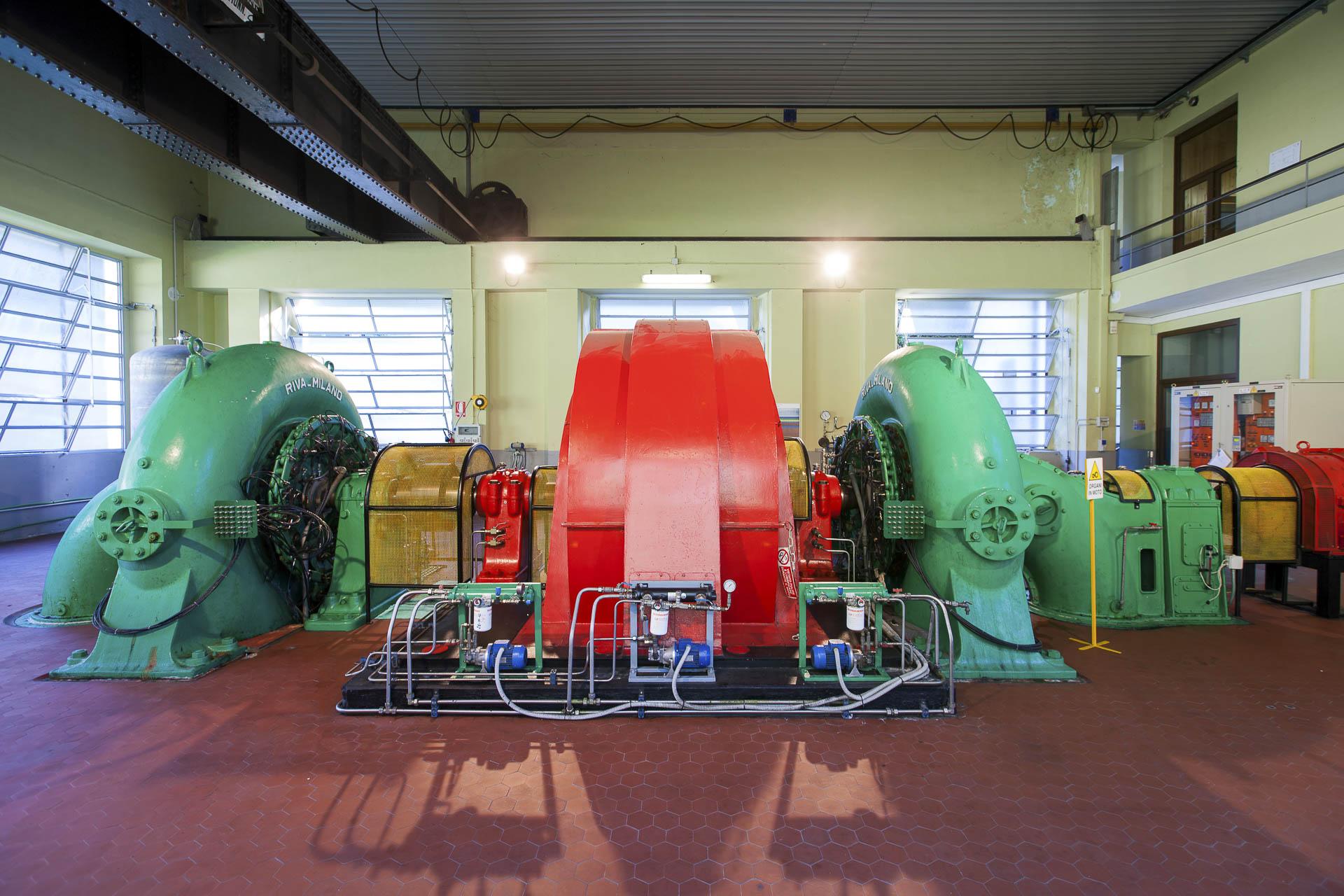 Centrale di produzione energia idroelettrica rinnovabile CVA