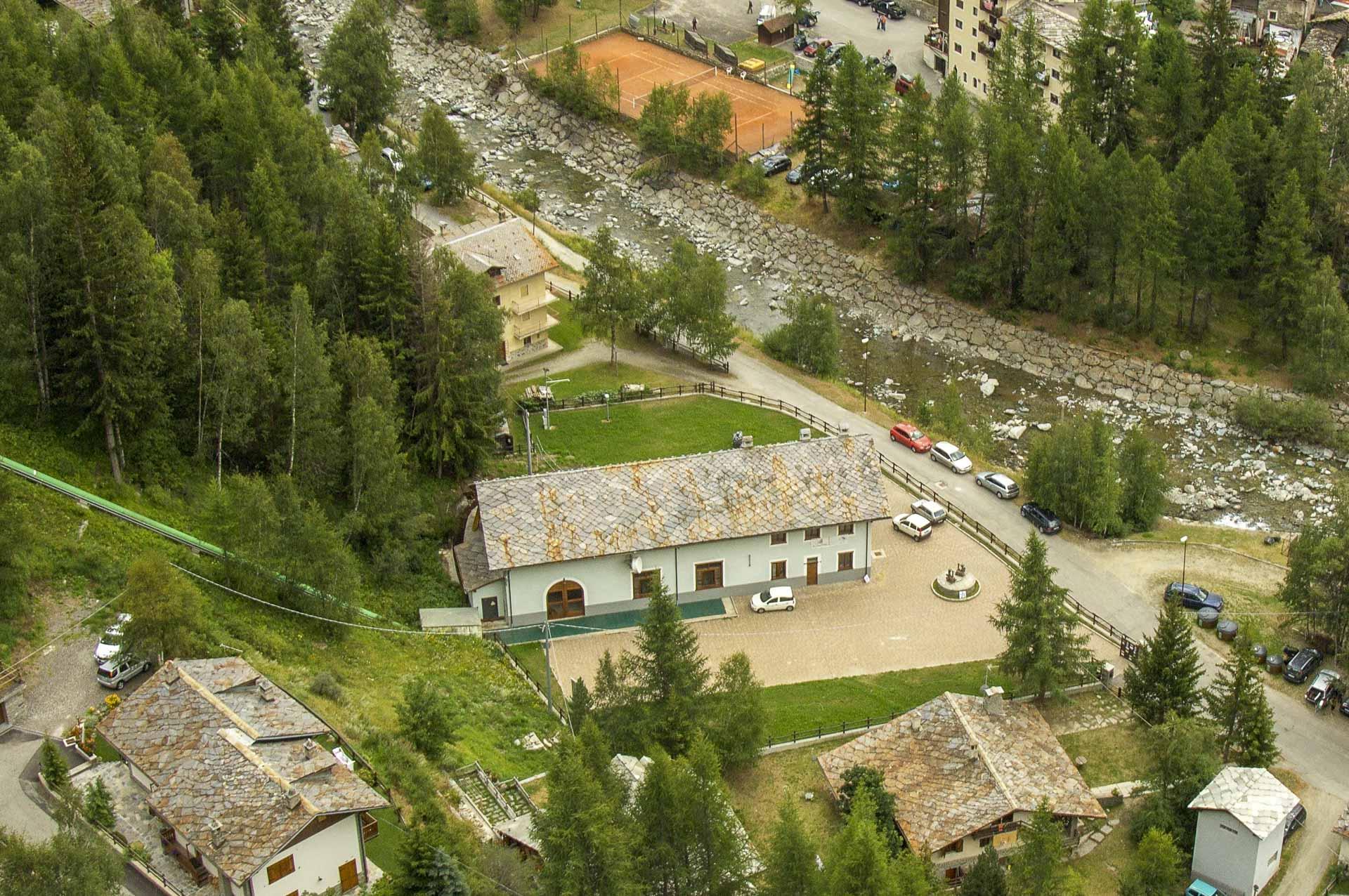 Impianto produzione energia idroelettrica rinnovabile di Lillaz CVA