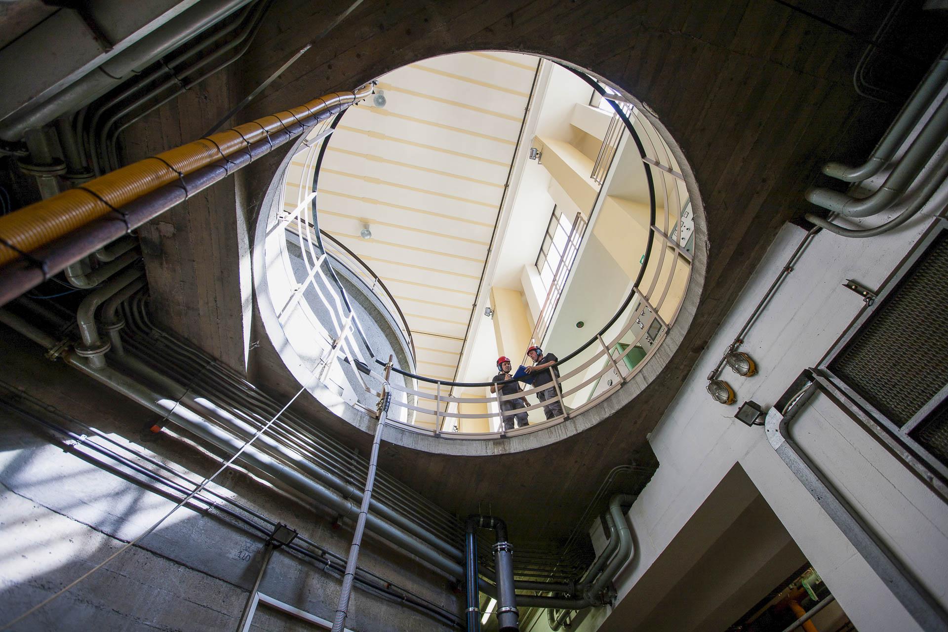 Centrale idroelettrica di Montjovet per produzione energia verde rinnovabile CVA