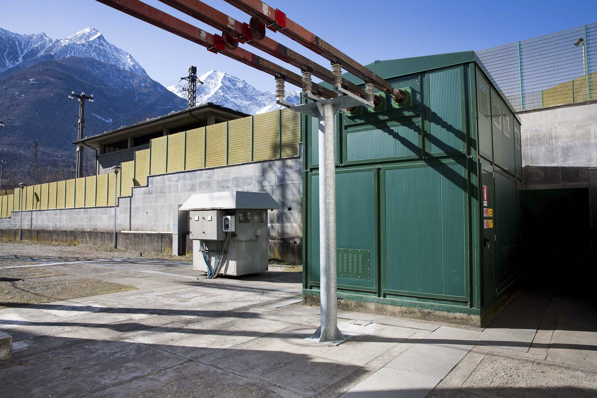 Centrale produzione energia idroelettrica verde di Quart