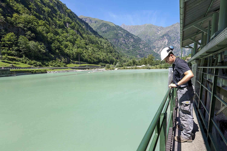 Centrale idroelettrica di Pont Saint Martin Centro produzione energia verde