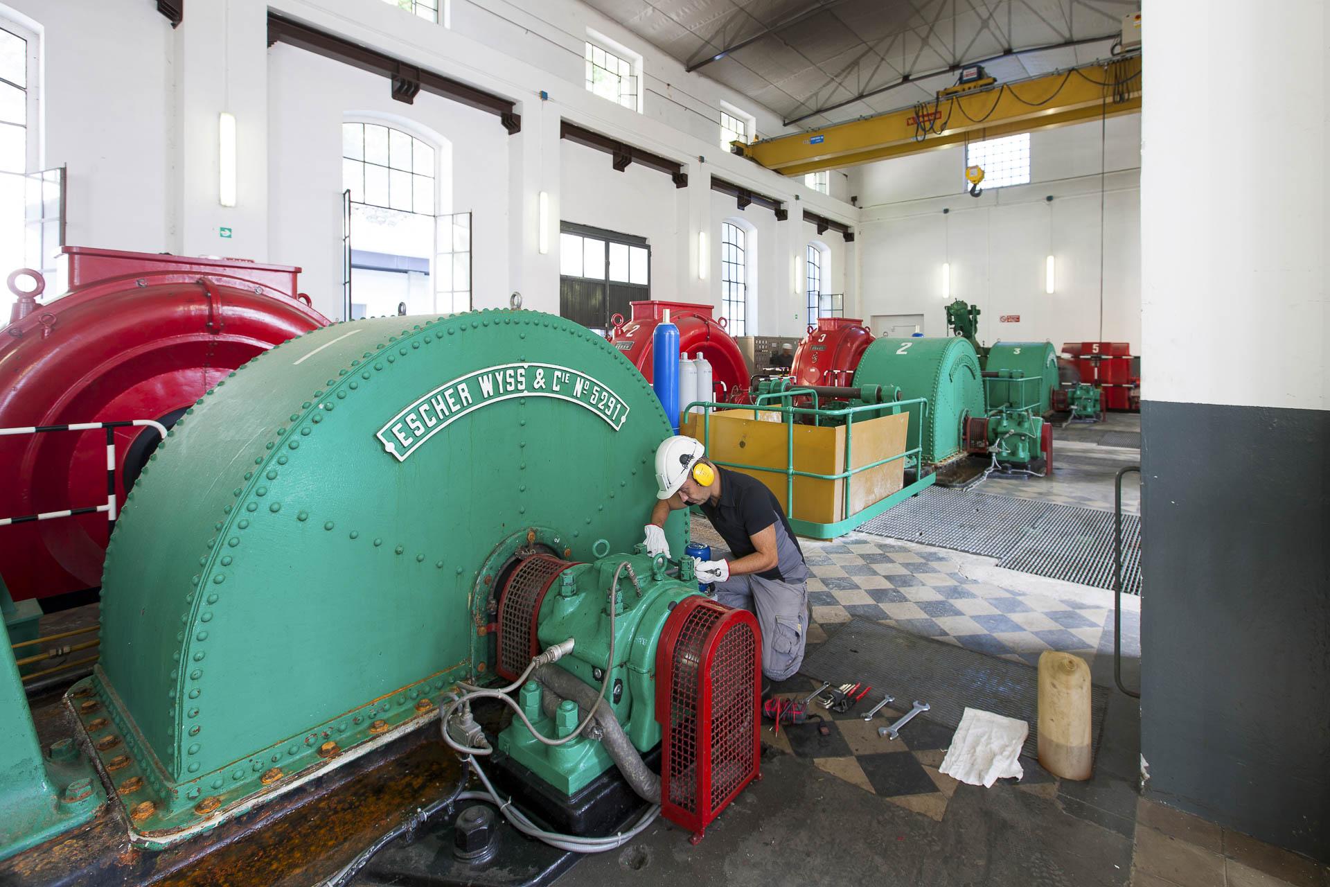 Centrale idroelettrica di Verres centro produzione energia verde rinnovabile CVA